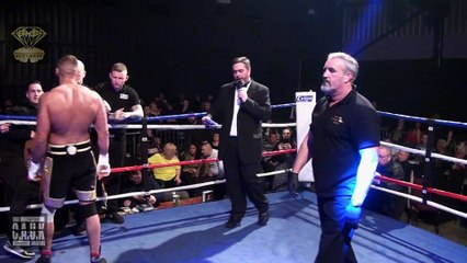 Bare Knuckle Boxing  Luke Atkins v Jacob Tosiack
