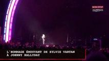 Sylvie Vartan : son hommage émouvant à Johnny Hallyday lors de son concert (vidéo)