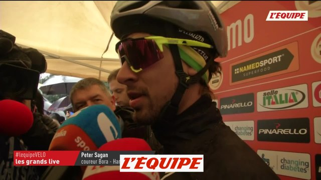 Sagan «Le plus important c'est de terminer vivant !» - Cyclisme - Milan-San Remo