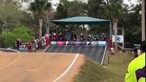 Chute au départ d'une course de BMX... tous les riders !