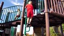 DEV EĞLENCE İNANILMAZ ÇOCUK OYUN Sevimli Max Çocuklar için Çocuk Bahçesi de in Real Life oynatır