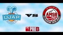 Match Pro B - UJAP Quimper 29 contre Aix-Maurienne Savoie Basket