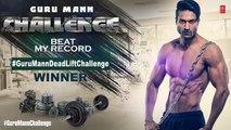 Winner of DEADLIFT CHALLENGE - Guru Mann Deadlift Challenge