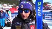 Victor Muffat Jeandet revient sur sa superbe 3e place sur le Slalom Géant de Are (Suede) - Crédit Vidéo FFS / Eurosport