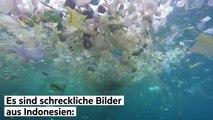 Ein Ozean voller Müll - diese Aufnahmen zeigen, was die Menschheit mit unserem Planeten anstellt.