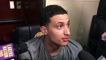 Kyle Kuzma on setting Lakers' rookie 3-point record: Everyone said I couldn't shoot | NBA on ESPN