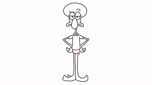 How to draw SpongeBob charers - Patrick, Squarepants, Squidward, Plankton, Mr Krabs, Sandra, Gary