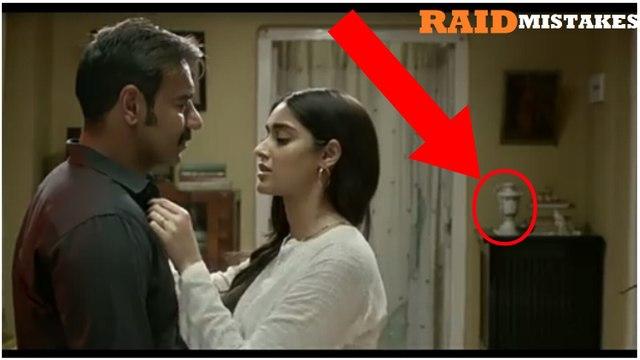 [ MISTAKES ] In Raid Movie  | Ajay Devgan | Raid  movie mistakes