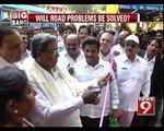 CM Inaugurates Tender Sure Roads in Bengaluru - NEWS9