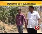 Road Blocked Due to Garbage Dumping in Bengaluru - NEWS9