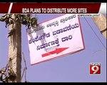 BDA Plans to Distribute More Sites in Bengaluru - NEWS9