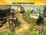 Boat sparks fear in Karwar - NEWS9