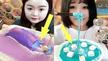 EATING SHOW COMPILATION-CHINESE FOOD-Slime food-Greasy Chinese Food-Beauty eat strange food-NO.80