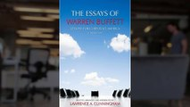 The Essays of Warren Buffett - Lessons for Corporate America, Third Edition READ ONLINE