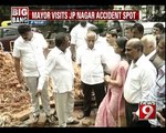 JP Nagar, mayor vows to ensure workers safety - NEWS9
