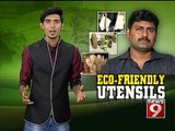 'ECO FRIENDLY UTENSILS' - NEWS9