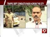 RTO conducts raids across the city- NEWS9