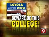 Bengaluru, college fails to pay rent and students stranded- NEWS9