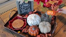 DIY Fall Decor + Decorate With Me For Fall | Fall 2016