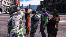 SUPERMAN VS JUSTICE LEAGUE - BATMAN, THE FLASH, WONDER WOMAN, AQUAMAN, CYBORG VS SUPERMAN
