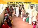 Davangere, snake menace rampant- NEWS9