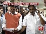 Bengaluru, BBMP gets a shocker on surprise visit- NEWS9