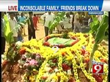 NEWS9: Ramanagara, inconsolable family of SI Jagadish