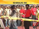 NEWS9: Bengaluru wakes up early for a run!