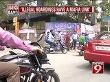 NEWS9: Bengaluru, illegal hoarding have mafia links