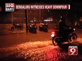 NEWS9: Bengaluru witnesses heavy downpour