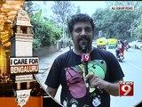 NEWS9: 'I Care For bengaluru' , Raghu Dixit(Aliaskar Road)
