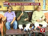 NEWS9: Bengaluru, no end to FTII students' agitation