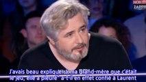 ONPC _ Nicolas Rey raconte comment Eric Zemmour a fait pleurer sa grand-mère (Vidéo)