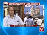 NEWS9: BBMP, crack down on all illegal hoardings
