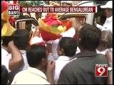 NEWS9: CM on Bengaluru Darshan again