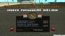"""GTA San Andreas - Escuela de Motos (Bike School) - Prueba #6 - Salto y """"Stoppie"""" - Tutorial"""