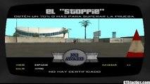 """GTA San Andreas - Escuela de Motos (Bike School) - Prueba #5 - El """"Stoppie"""" - Tutorial"""