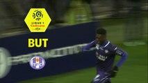 But Yaya SANOGO (90ème +1) / Toulouse FC - RC Strasbourg Alsace - (2-2) - (TFC-RCSA) / 2017-18