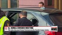 Swedish, N. Korean FMs wrap up rare talks