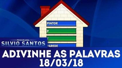 Adivinhe as Palavras - 18.03.18