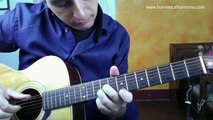 How to play Strawberry Fields Intro Beatles Guitar Lesson