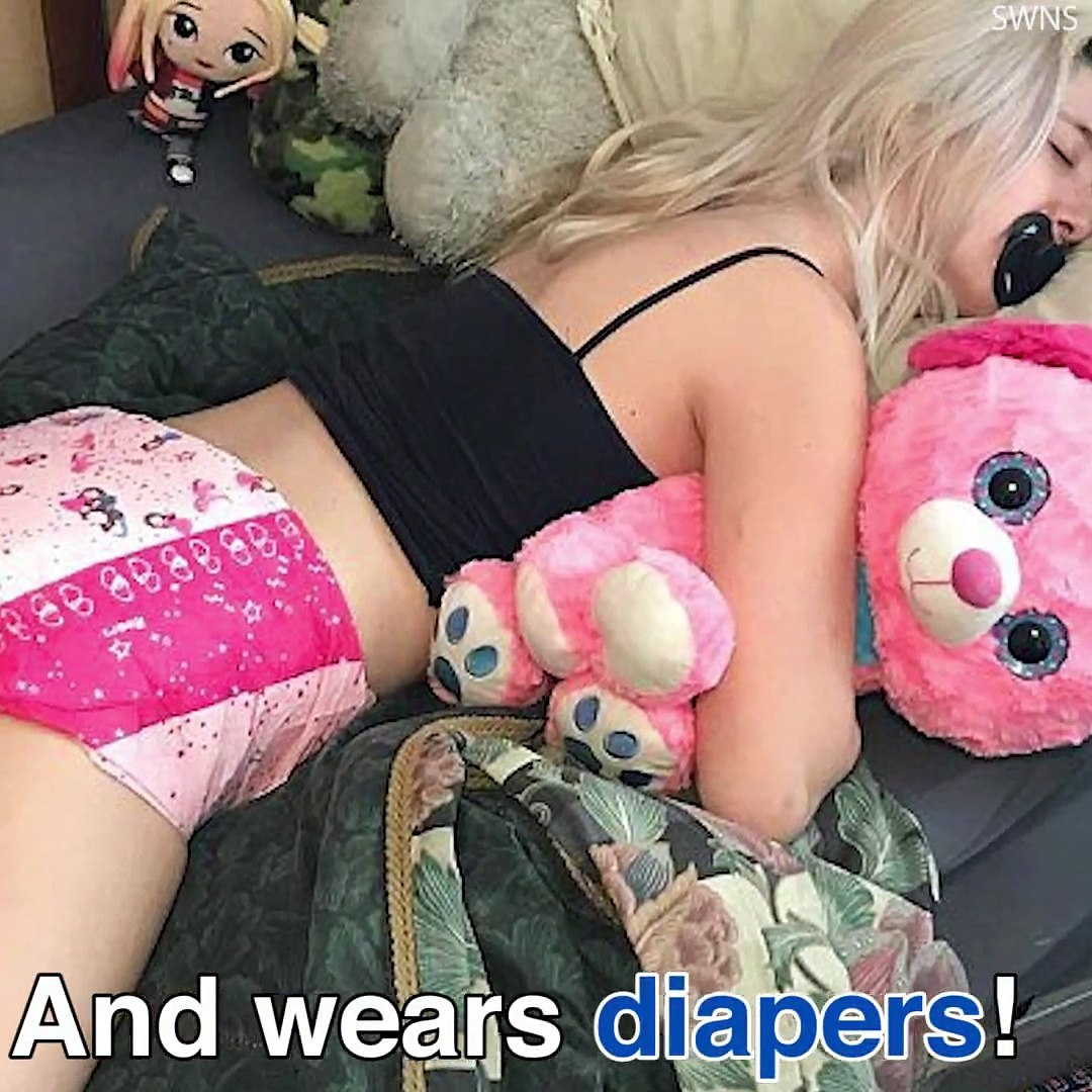 Girls forced to wear diapers