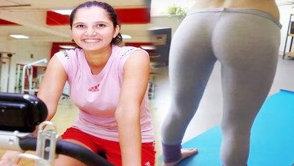 Breaking News: Sania Mirza BUTT Workout 2017 Video!