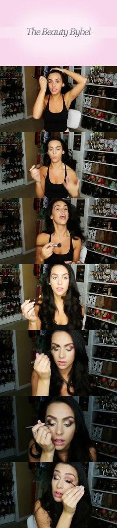 No Mirror Makeup Challenge! Carli Bybel