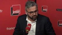 Alexis Corbière au micro de Léa Salamé
