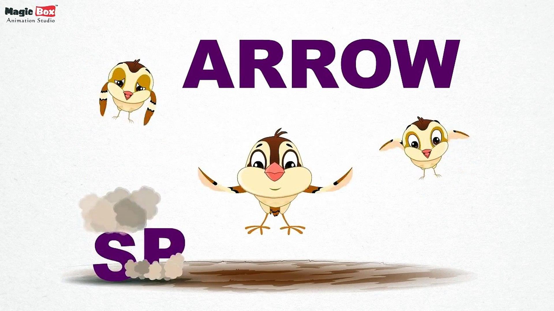 Sparrow - Birds - Pre School - Learn Spelling Videos For Kids