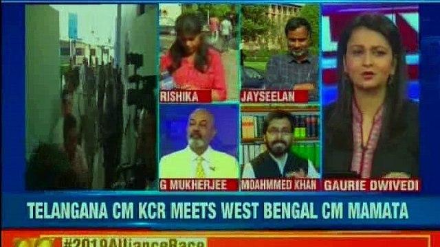2019 Alliance race: Telengana CM KCR meets West Bengal CM Mamata