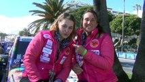 Départ du Rallye Aïcha des Gazelles du Maroc : équipage 202