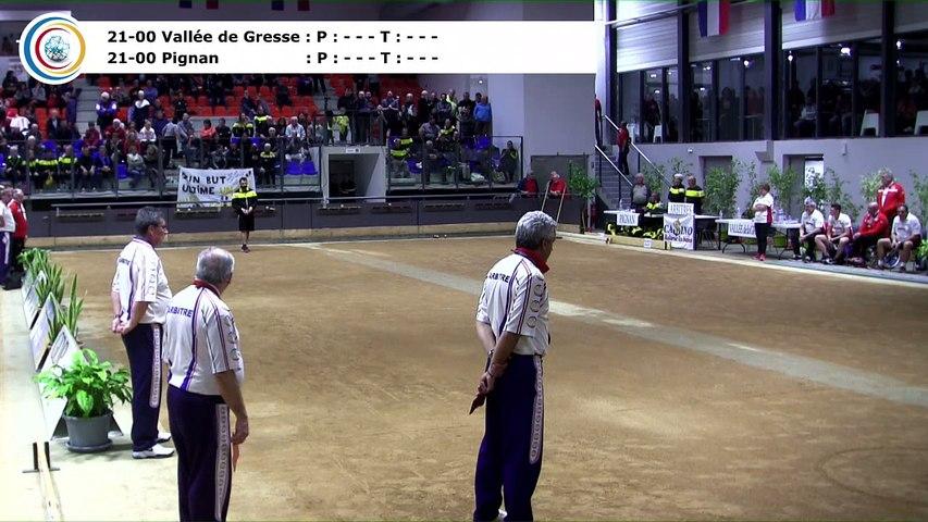 Epreuve d'appui,, Finale N4, Pignan contre Vallée de Gresse, France Clubs 2018, Balaruc-les-Bains 2018
