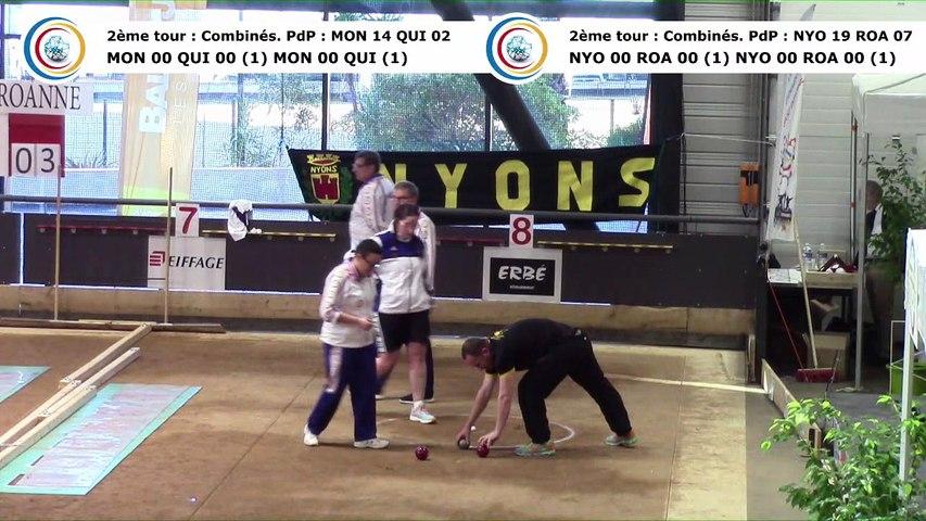 Second tour intégral, finale N2F Nyons contre Roanne, finale N2 Monaco contre Quincieux, France Clubs 2018, Balaruc-les-Bains 2018